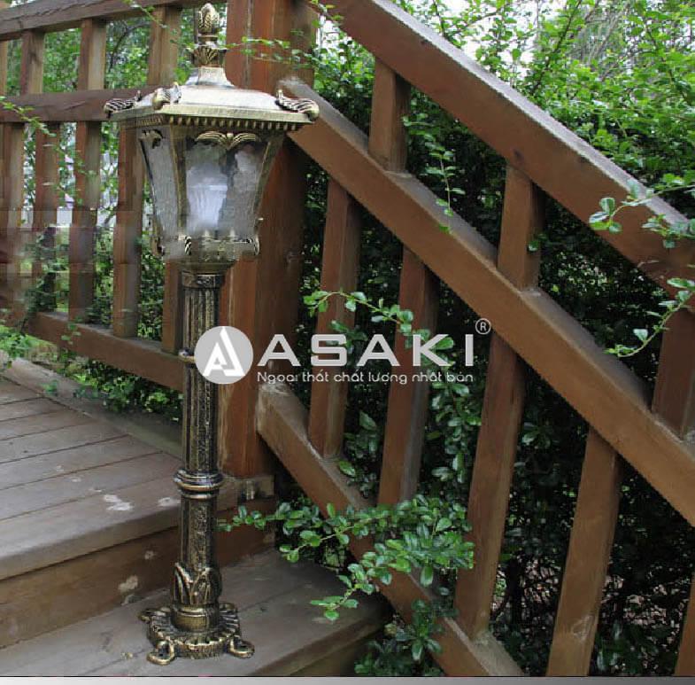 Tậu ngay mẫu đèn trang trí sân vườn phong cách Châu Âu ROL435