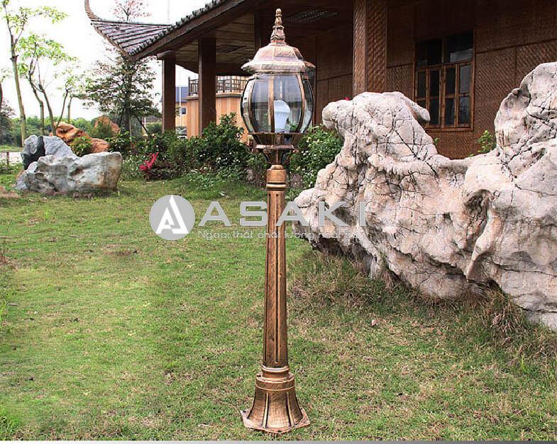 Đèn trụ cổng phong cách Châu âu ROL 425