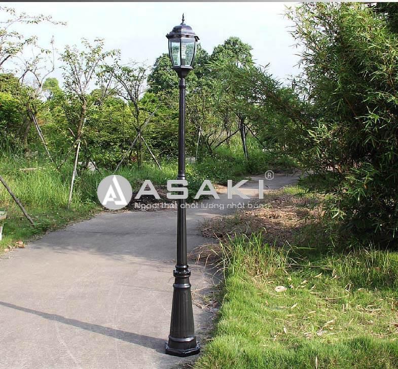Đèn trụ cổng nhập khẩu thiết kế hiện đại ROL441