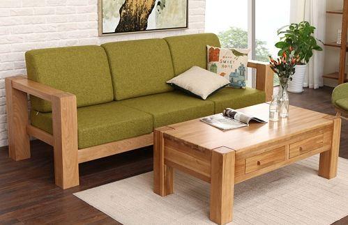 Mua bộ bàn ghế gỗ phòng khách nhỏ giá rẻ ở đâu?