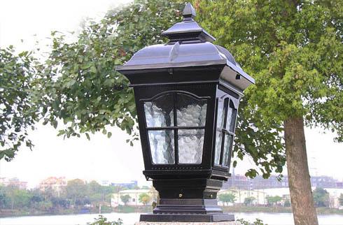 Các mẫu đèn trụ cổng vuông đẹp mà rẻ