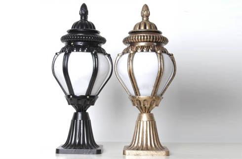 Mẫu đèn trụ cổng trang trí trang nhã