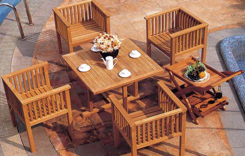 Review top 4 bộ bàn ghế gỗ uống trà ngoài trời đẹp nhất 20