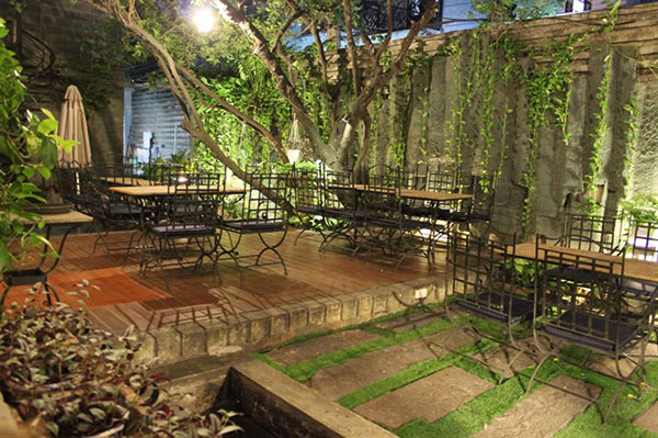Gợi ý: Các mẫu thiết kế quán cà phê sân vườn đẹp nhất 2020