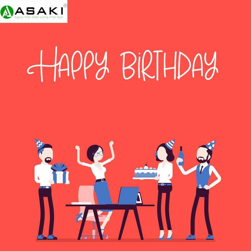 Tổ chức sinh nhật tháng 10 cho các thành viên tại ASAKI