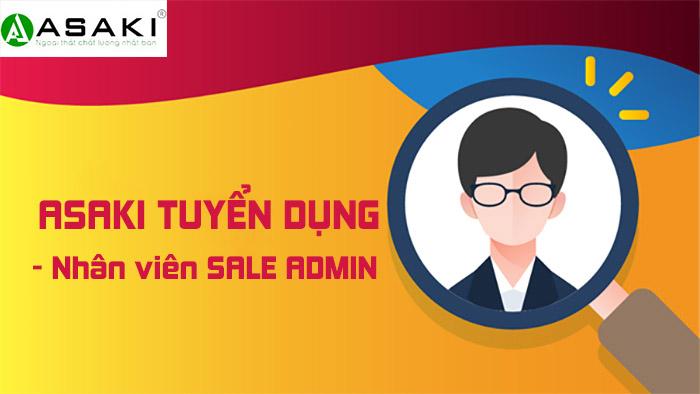 Tuyển dụng nhân viên SALE ADMIN tại TP.HCM