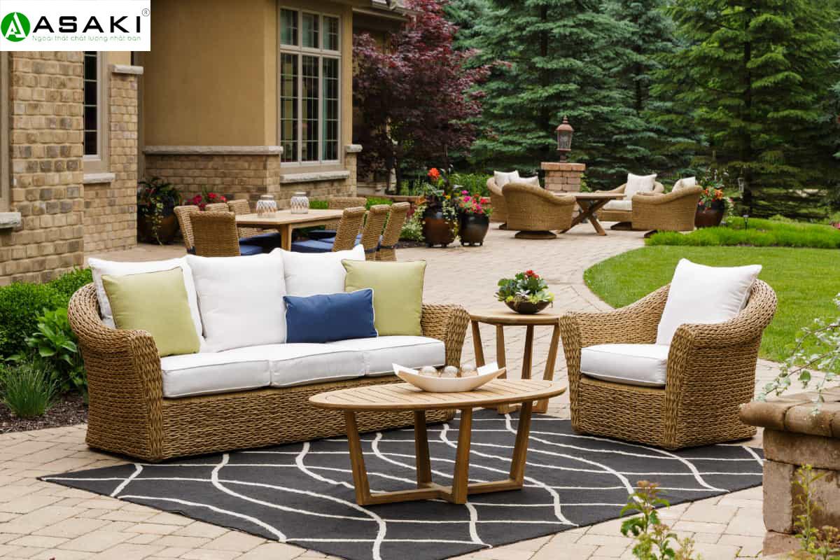 Bỏ túi cách sắp xếp bàn ghế sân vườn thật ấn tượng, đẹp mắt
