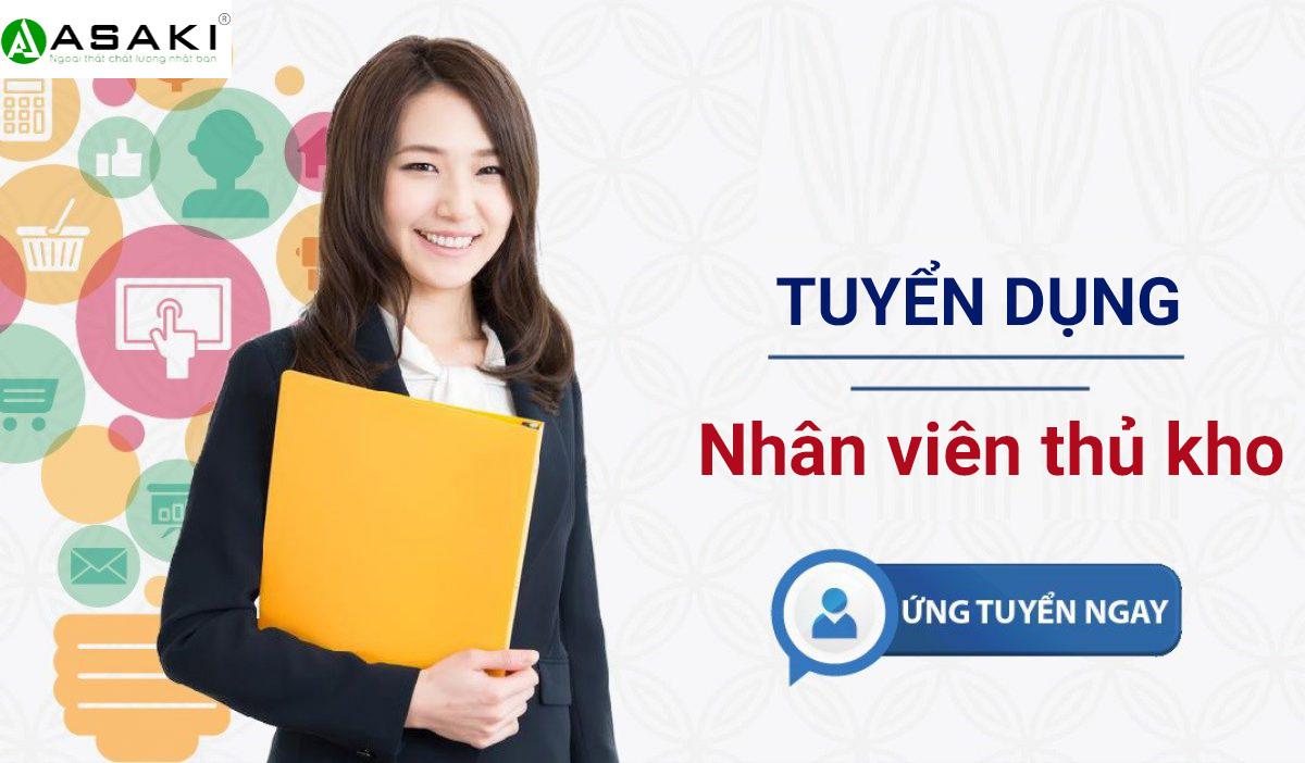 Tuyển gấp nhân viên kho tại Hà Nội